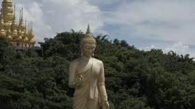 4K-原素材-西双版纳佛教视频素材