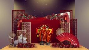 中国风古风婚庆请柬ae模板AE模板