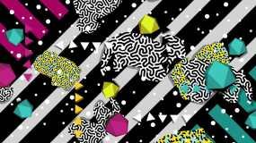 炫酷抽象创意背景视频素材