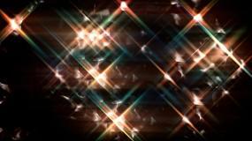 灯光闪烁led矩阵视频素材