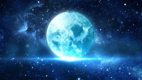 唯美月亮视频素材