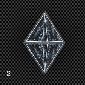 四组-科技玻璃水晶视频素材包