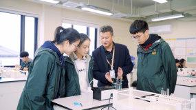 高中化学课-物理课-木工课视频素材