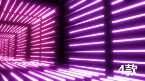 炫酷霓虹光效穿梭视频素材包