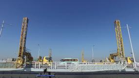 航拍港珠澳大桥视频素材