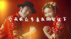 创意婚礼开场婚礼展示视频AE模板