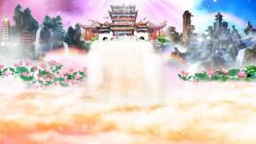 天堂仙境天国视频素材