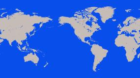 世界地图背景无限循环视频素材