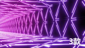 炫酷霓虹光动感DJ背景视频素材包