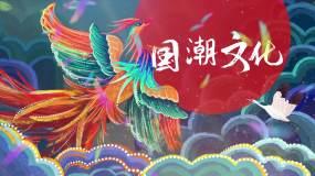 简约国潮文化宣传模板视频素材