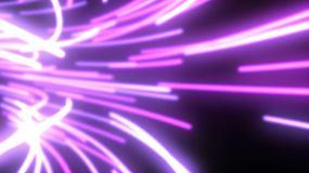 数据流光速动态隧道背景视频素材