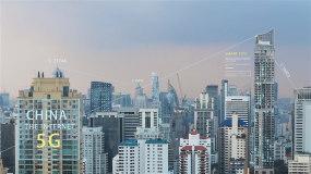 5g互联网科技城市AE模板