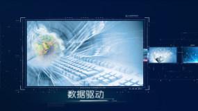 科技图文蓝_1AE模板