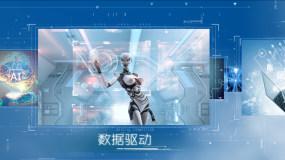 科技图文白_1AE模板