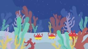 螃蟹舞抖音神曲Lisa视频素材