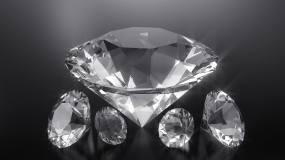 白色钻石背景视频素材