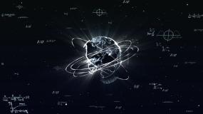 科技粒子地球视频素材包