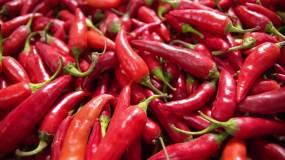 【4K】红辣椒调料做饭烹饪视频素材