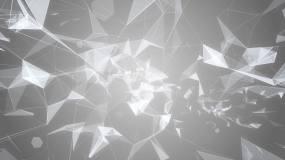 白色简约风科技背景素材视频素材