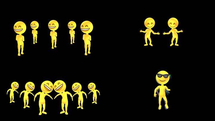 小黄人跳舞带通道多组