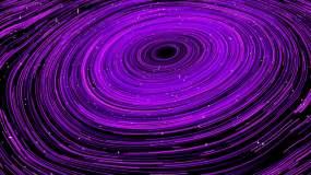 抽象线条涡旋视频素材