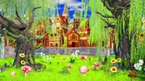 唯美童话城堡视频素材