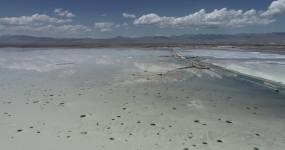 4k茶卡盐湖超高清航拍视频素材