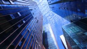 高楼大厦中央商务区视频素材