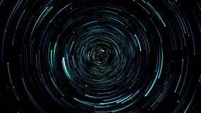 4K星轨形成1视频素材