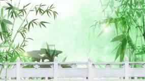 水墨中国风-led舞台背景竹林视频素材