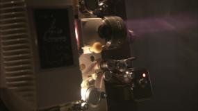 实拍老式放映机3视频素材