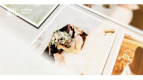 影爵高端唯美婚纱相册记录-4分钟版本AE模板