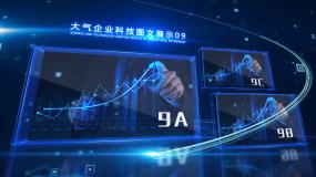 大气企业科技图文片头AE模板018AE模板