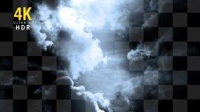电闪雷鸣打雷写实动画视频素材包