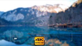 【4K】相机拍照效果AE模板