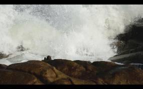 海浪-高速摄影(原创)视频素材