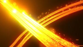 华丽运动光线可修改AE模板