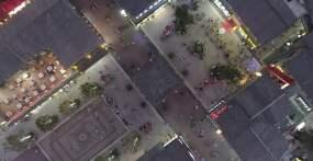 鼓楼夜景视频素材