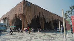 4K北京延庆世园会园艺世界博览会全素材6视频素材