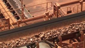 矿产开采视频素材