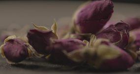 4K实拍玫瑰花干花(可深度调色)视频素材
