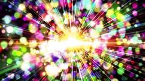 4K唯美的粒子背景素材视频素材