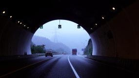 4K汽车连续过隧道视频素材