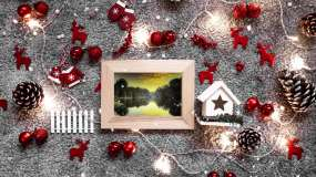 圣诞节日风格图文展示AE模板