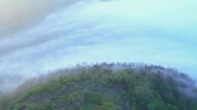 烟台长岛平流雾视频素材