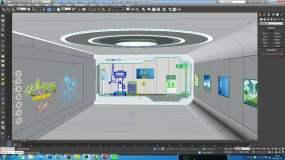 虚拟演播室生活类栏目医疗虚拟演播3Dmax