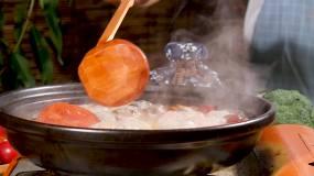 丸子汤视频素材