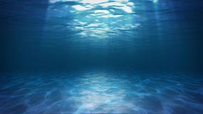 海底光线波纹视频素材