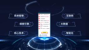 手机页面内容展示AE模板AE模板