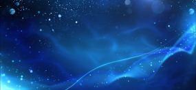 梦幻缥缈虚幻粒子线条光影背景素材视频素材